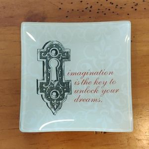 Inspirational decorative plate